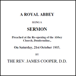 Royal Abbey Sermon